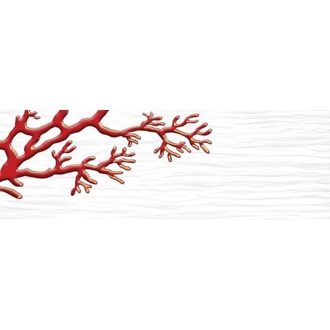 Декор Коралл белый 04-01-1-17-03-00-901-8 600х200х9
