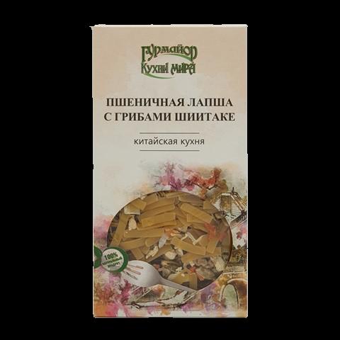 Пшеничная лапша с грибами шиитаке ГУРМАЙОР