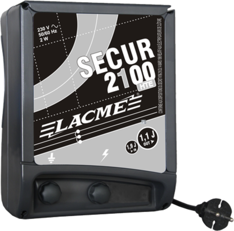 Электропастух Secur 2100 HTE Lacme с питанием от сети 220 V,до 60 км, фото