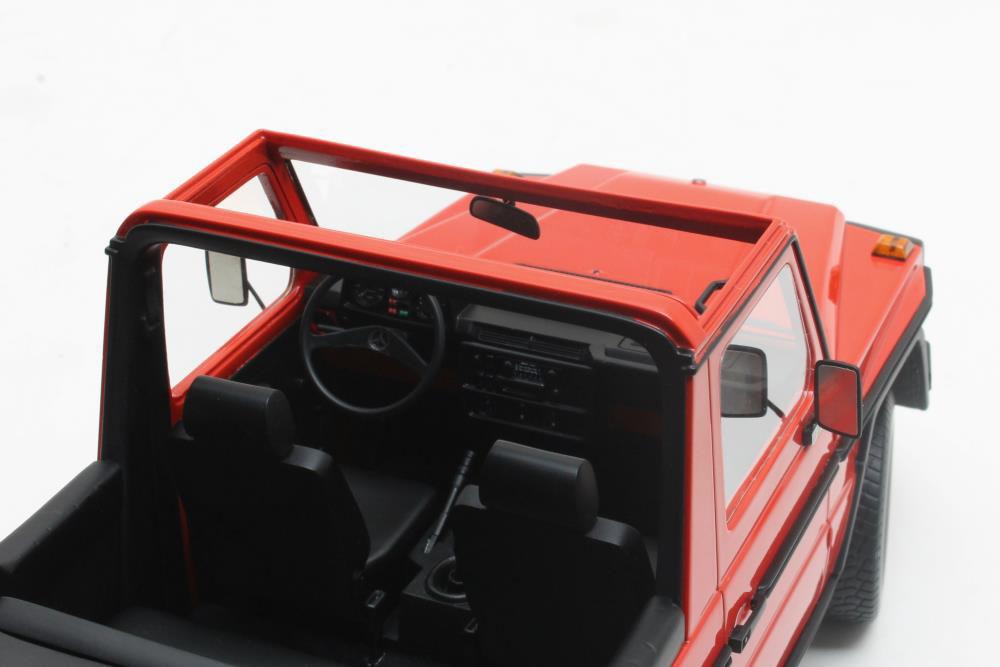 Коллекционная модель Mercedes-Benz 230GE Cabrio G-Class G460 (W460) 1979 Red