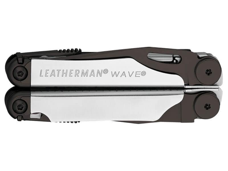 Мультитул Leatherman Wave LE, 17 функций, серебристо-черный