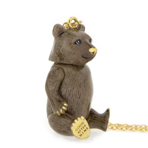 Колье Бурый Медведь
