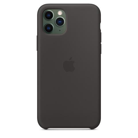 Чехол iPhone 11 Pro Silicone Case /black/ черный 1:1