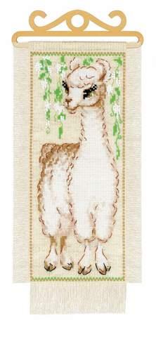 Набор для вышивания крестом «Альпака» (1890)