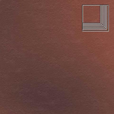 Ceramika Paradyz - Cloud Rosa Duro, 300x300x11, артикул 34 - Ступень угловая структурная