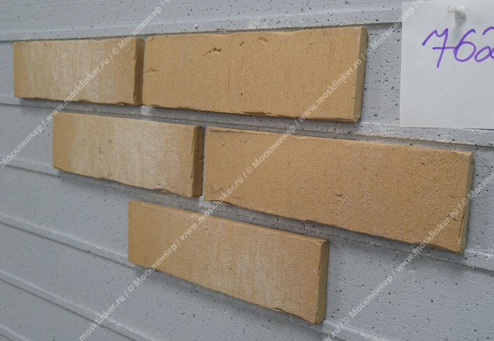 Feldhaus Klinker - R762NF14, Vascu Sabiosa Blanca, 240x14x71 - Клинкерная плитка для фасада и внутренней отделки