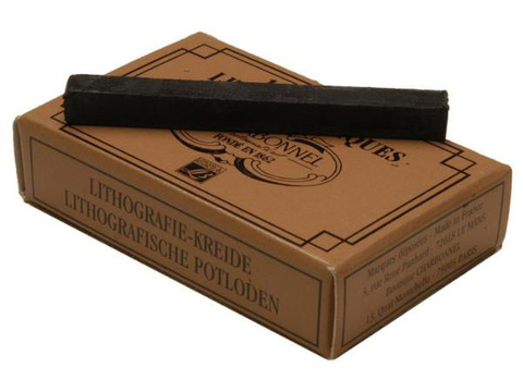 Карандаши литографические Lefranc&Bourgeois №4, упаковка 12 шт
