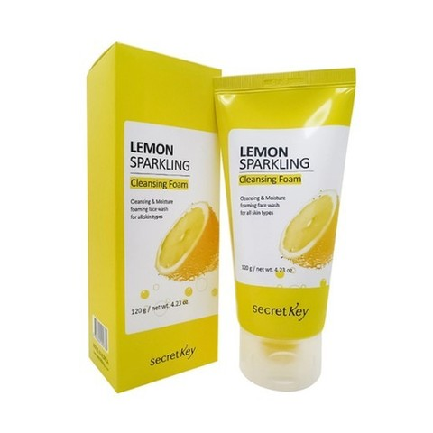 Secret Key Lemon Sparkling Пенка для умывания