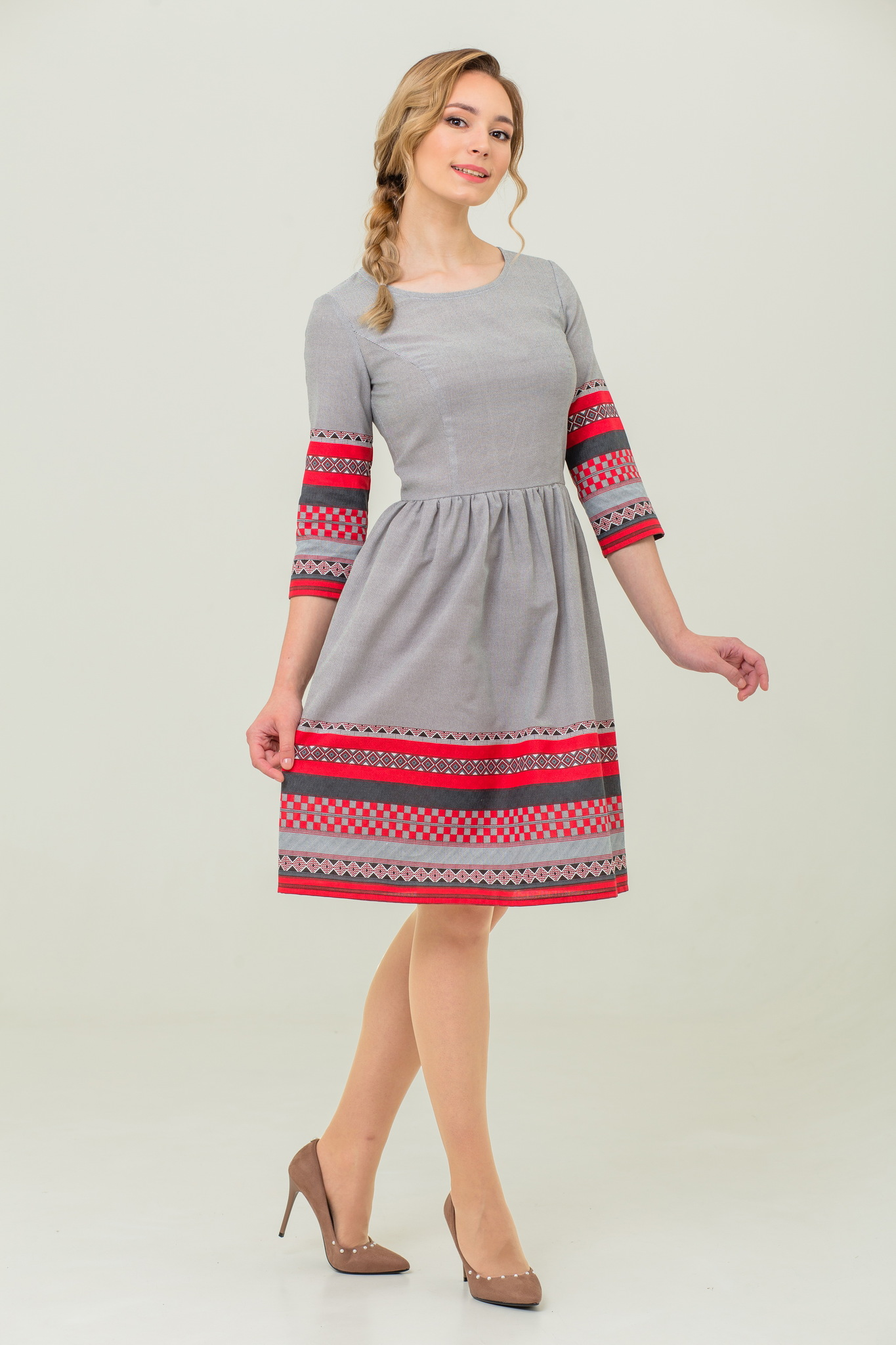 платье в русском стиле Шамбала