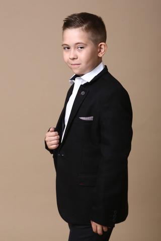 Пиджак для мальчика, воротник стойка Viktor ENZO Турция, 6025 (122-146)