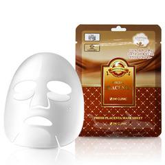 Тканевая маска 3W Clinic Fresh Placenta Mask Sheet с экстрактом плаценты 23 мл