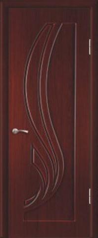 Дверь Элегия (орех седой тёмный, остекленная ПВХ), фабрика Зодчий