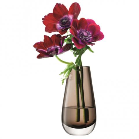 Ваза в форме бутона Flower Colour 14 см мока