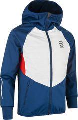 Детская теплая куртка для лыж и зимнего бега Bjorn Daehlie Nordic Jr Estate Blue