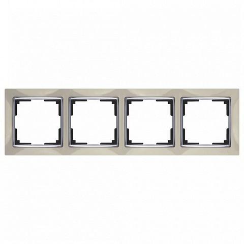 Werkel Рамка WL03-Frame-04 слоновая кость
