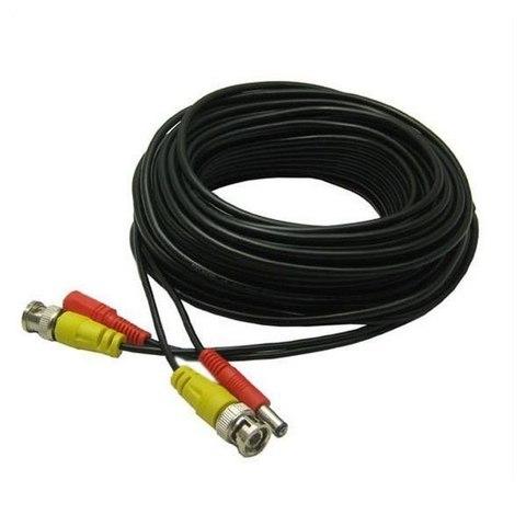 Кабель BNC+питание 5м соединительный шнур 5 метров для систем видеонаблюдения  видеокамер  камер BNC и питание