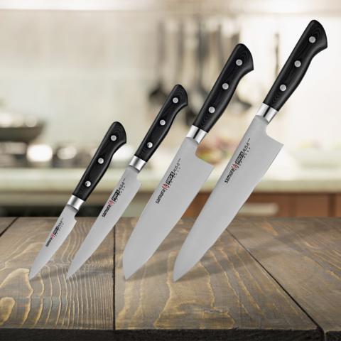 Набор из 4 ножей Samura PRO-S