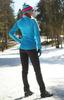 Элитный утеплённый лыжный костюм Nordski Elite Pro Blue-Black женский