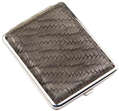 Портсигар S.Quire AB02-GBrz бронзово-серый
