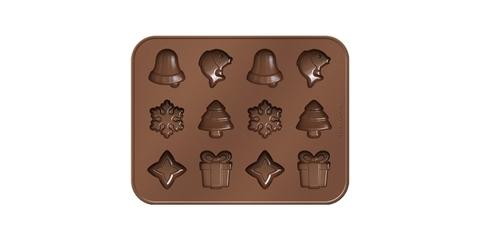 Формочки Tescoma DELICA CHOCO Рождественские мотивы, для шоколада