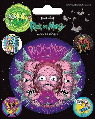 Стикерпак «Рик и Морти»