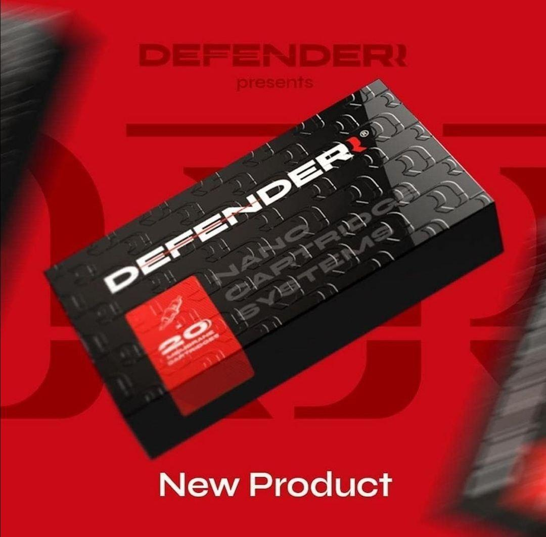Картридж для тату  Defender 25/01 RLLT 20шт.в упаковке