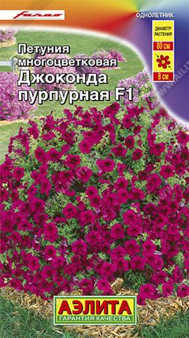 Петуния Джоконда F1 пурпурная тип ц/п