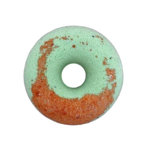 Cafe mimi Гейзер для ванны Персиковый пончик с киви 140г