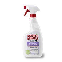 8in1 средство для устранения запаха в кошачьем туалете NM Litter Box Odor Destroyer спрей