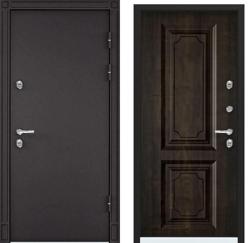 Входные двери Snegir 45 MP горячий шоколад S45-05 КТ орех грецкий generated_image-22.jpg