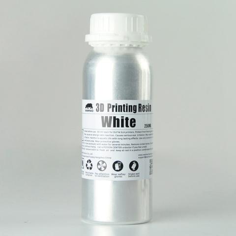 Фотополимер Wanhao Standard Resin, белый (250 мл)