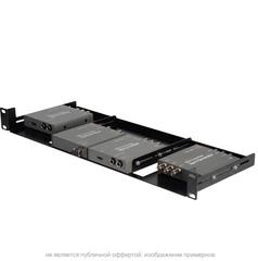 Телекоммуникационная стойка Connectronics 1U Rackmount для Blackmagic Mini Converters