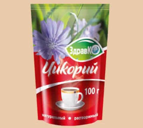 Цикорий ЗдравКо раств натуральн ZIP 100г
