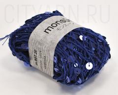 цвет 13 / яркий синий с пайетками в тон