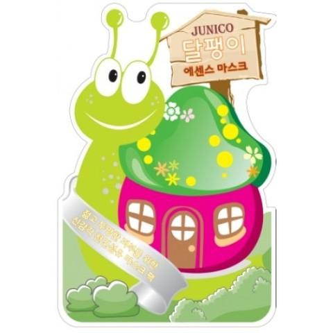 MIJIN Junico Маска тканевая с экстрактом улитки Junico Snail Essence Mask