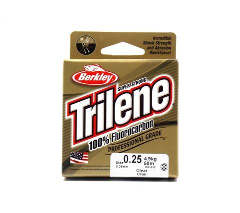 Леска флюорокарбоновая Berkley Trilene Fluorocarbon Leader 50 м. 0,25 мм. 4,9 кг. Clear (1391572)