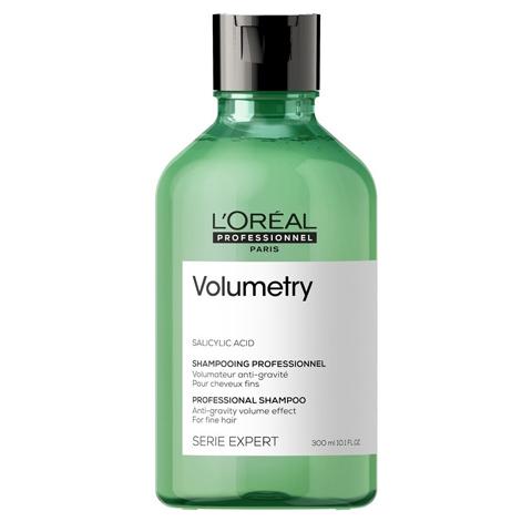 L'Oreal Professionnel Volumetry: Шампунь для объема тонких волос Волюметри (Volumetry Salicylic Acid Shampoo), 300мл/1.5л