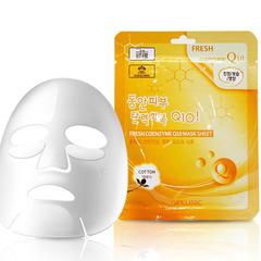 Тканевая маска 3W Clinic Fresh Coenzyme Q10 Mask Sheet с коэнзимом Q10 23 мл