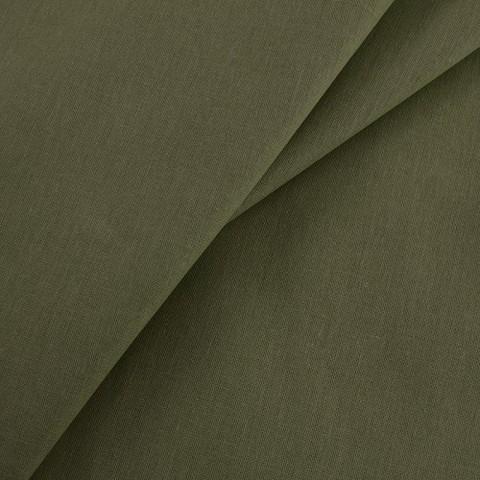 Бязь гладкокрашеная 100гр/м2 150см цвет олива