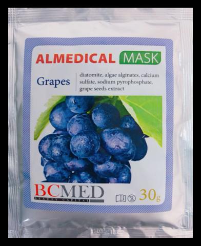 *Альгинатная маска (BCMED/Виноград/30гр)