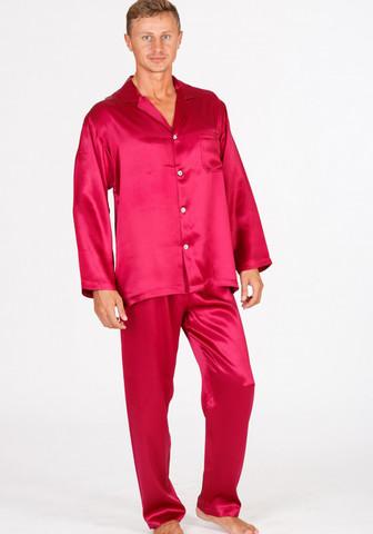 Пижама мужская из натурального шелка