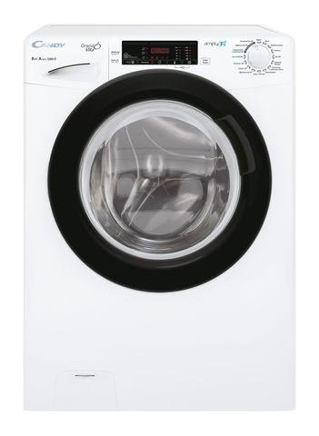 Узкая стиральная машина Candy GrandO Vita Smart GVOS441285TWB-07