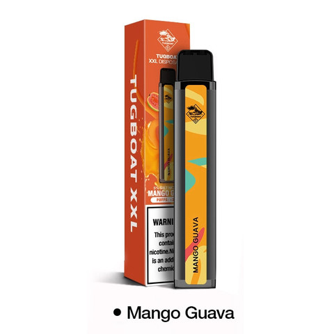 TUGBOAT XXL (2500 затяжек) Mango Guava