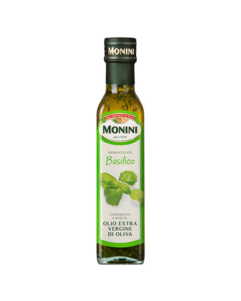 Масло оливковое Monini Экстра Вирджин Базилик 250 мл.