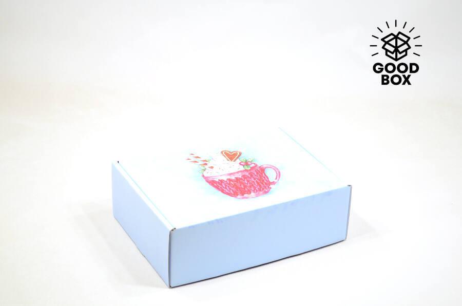 Новогодняя подарочная коробка 2022 года купить в Алматы