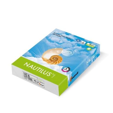 Бумага офисная NAUTILUS Recycled, 500 листов