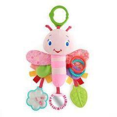 Bright Starts Развивающая игрушка-подвеска 'Розовая стрекоза' (9182)