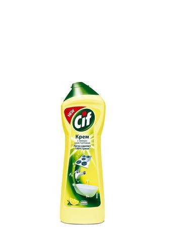 Средство чистящее универсал.Cif 250мл Cream Lemon,крем