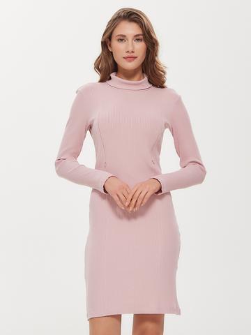 Платье лапша Пудра