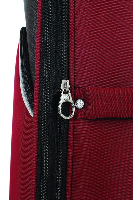 Чемодан SWISSGEAR ARBON, цвет красный/серый, полиэстер 49x31x78 см, 92 л  (7377114177)